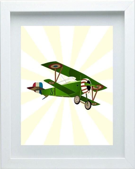 Https Www Etsy Com Listing 177560597 Boys Art Aviation Art Boys Bedroom Decor