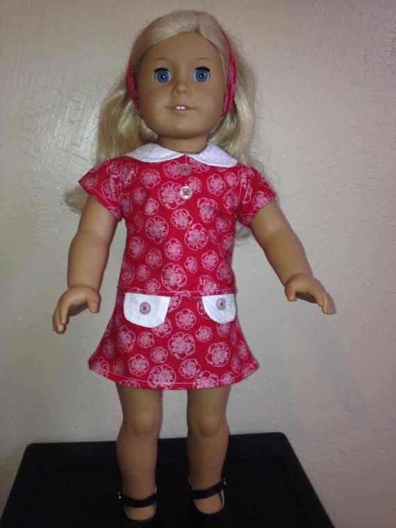 18 doll clothes school dress sale