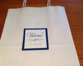20 Tags for Wedding Welcome Bags