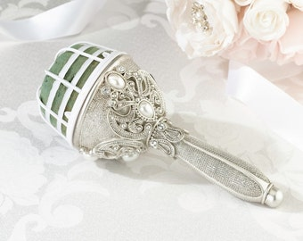 Jewelled Bouquet Holder, Wedding Flowers, FREE POSTAGE Australia Wide