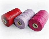 4 ply Irish Waxed Linen Cord Lilac  - 1 Yard