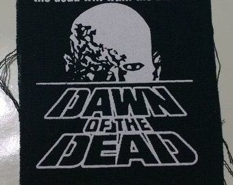 DAWN of the DEAD patch horror movie zombie Free Shipping