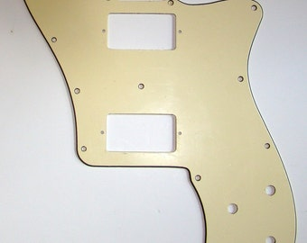 Fender Telecaster Deluxe Replacement Pickguard for Two Humbuckers, Cream (SHIPPING WORLDWIDE)