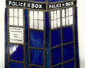Stained Glass Tardis