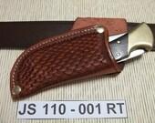 Leather knife Sheath  JS110-001RT