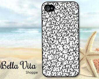 iPhone 4 4s Cat Case -  Cats iPhone 4 4s Case - iPhone 4 4s Cats Case - iPhone Cats Case - 4 4s I4C