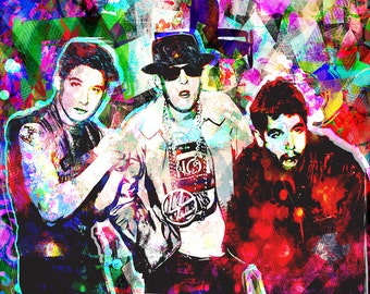 Beastie Boys Art, Hip Hop Original Painting Art Print