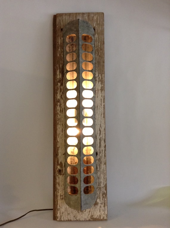 Rustic Farmhouse Wall Sconces : Farmhouse Fresh Rustic Chicken Feeder Wall Light Lighting