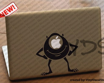 MAC MACBOOK Laptop Vinyl Decal Sticker Monster