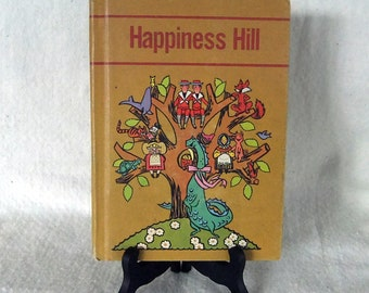 Vintage Textbook- Happiness Hill