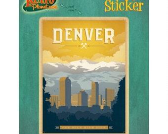 Colorado Sticker Etsy
