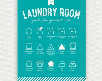 Printable Laundry Room Wall Art Large