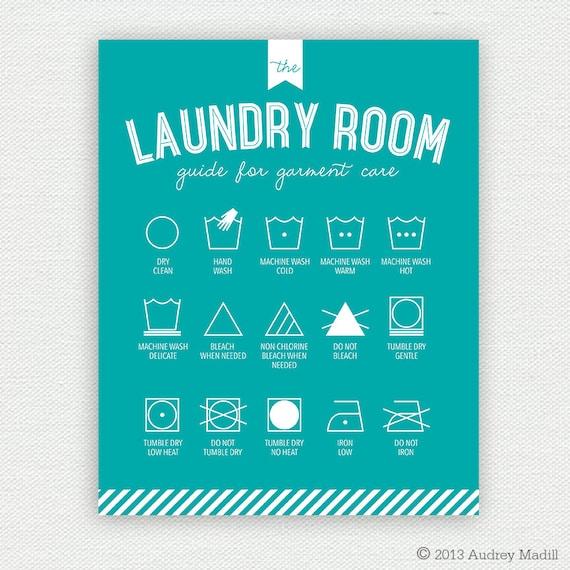 Laundry Wall Art printable laundry room wall art (large) - laundry symbols