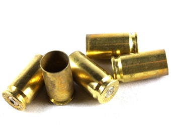 10x Brass 9mm Bullet Shell Casings - Will Drill or Remove the Primer If Requested  - M058