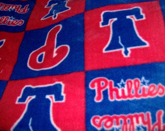 Phillies MLB Baseball 2 Styles Fleece Throws