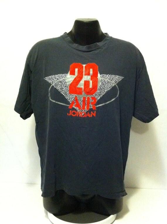 Vintage Nike Air Jordan 23 T Shirt Size Large Made By