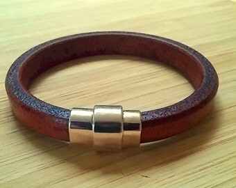 Regal Whiskey - Leather Bracelet