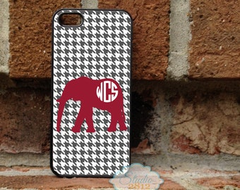 Personalized iPhone Case, - iPhone 4, iPhone 4s, iPhone 5, Samsung Galaxy S3, Galaxy s4  -  Alabama - 165