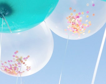 "36"" Round Balloon - Clear - Petite Party Studio"