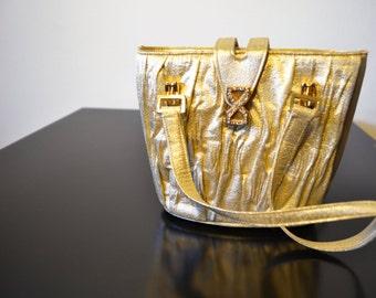 Formal purse,gold crystaL,bagsl purses, handBag, Small, FREE SHIPPING