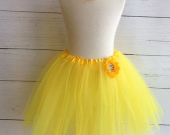 Yellow Girls Tutu Set