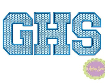 GHS Motif Stitch Embroidery Design