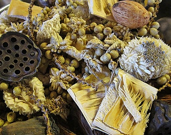 Potpourri VANILLA Handcrafted Botanical Potpourri Pint
