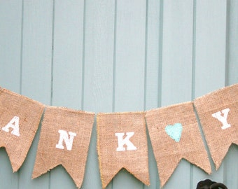 Wedding Special Occasion Thank You Bunting Garland Decoration Engagement