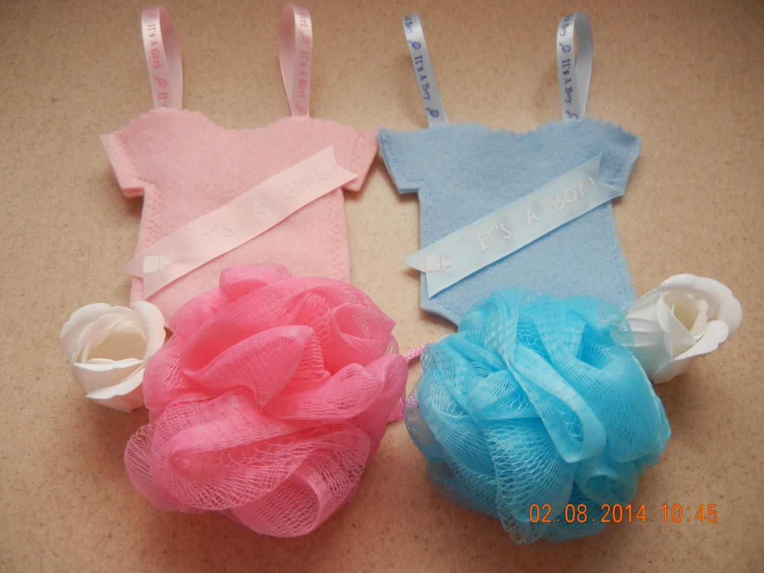 onesie or elephant treat bags baby shower treat bags goodie