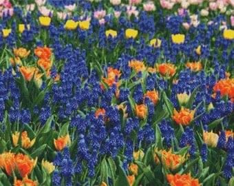 Beautiful Flowers PDF Cross Stitch Pattern