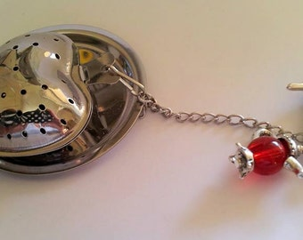 Glam Tea infuser with beads