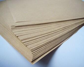 50pcs - 80gram A4 Size Kraft Paper *KP080*