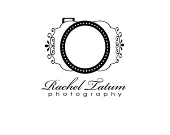 """CLEARANCE DIY Instant Download Custom Premade Photography Logo and Watermark """"Large Camera"""" - Fully Custom Font and Color"""