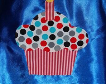 Happy Birthday Cupcake Cape