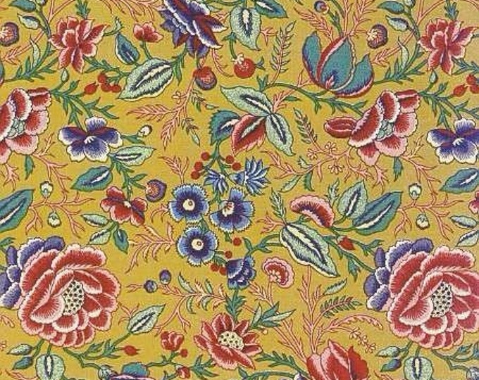 Dutch Chintz - Oberkampf Yellow Gold