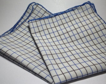 Tattersall Pocket Square