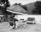 Furniture Feud, Los Angeles, 1951 Vintage Photo Print 8 X 10