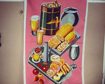 Super kitschy tea towel - Be the Hostess with the Mostess!