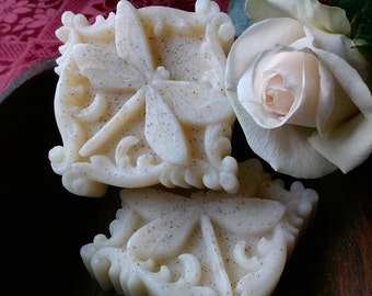 Shea Butter Almond Dragonfly Soap -Vegan-