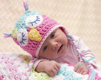 CROCHET OWL HAT Pattern Kerry Jayne Design Baby Owl Hat Pattern Owl Hat Crochet Pattern Baby owl hat pattern Owl Hats Owl Hat Pattern Uk