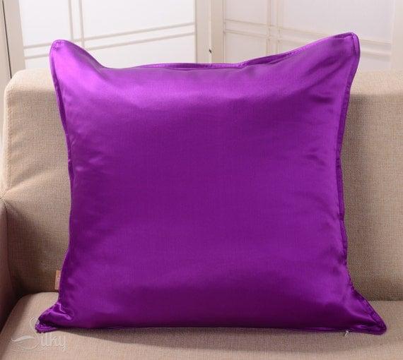 Euro Sham Custom Couch Pillow Cover Royal Purple 100