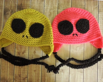 Alien Crochet Hat - Child size only