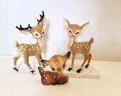 Vintage Plastic Christmas Deer