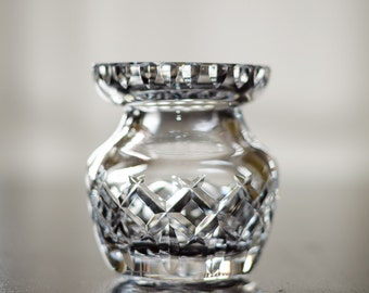 Small Crystal Vase