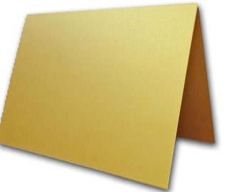 Metallic Super Gold Place Cards 25 pack