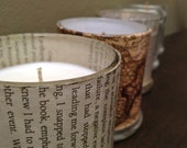 Handmade Fully Scented Natural Soy Candle Page Unique Slow Burning Custom Wooden Normal Wick Wedding Centrepiece Gift