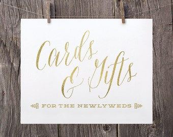 Wedding Gift Table Sayings : 5x7 Printable Wedding Signs, Wedding Cards and Gifts Sign, Gift Table ...