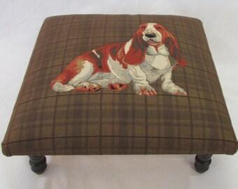Corona Decor Co. Baxter Woven Footstool