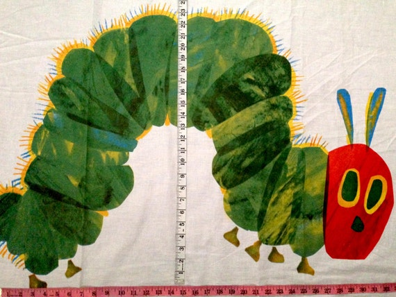 Very Hungry Caterpillar Panel Fabric L34 Quot X W38 Quot Inches