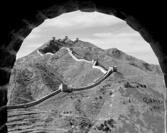 Photo print: Great Wall, China. Fine Art Photography. Photography. Beijing